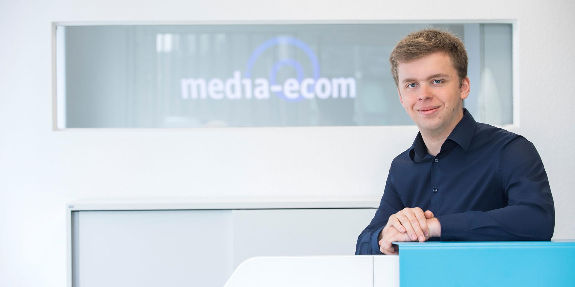 Mitarbeiter der media-ecom GmbH